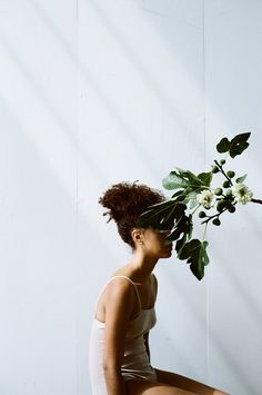 'Overgrowth' an artistic collaboration between photographer Parker Fitzgerald and floral designer Riley Messina.