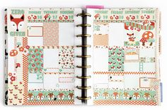 Life in print: Zero Fox Given - Happy Planner and Personal Color Crush - Download
