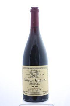 Louis Jadot (Domaine Louis Jadot) Corton Gréves 2010. France, Burgundy, Aloxe Corton, Grand Cru. 6 Bottles á 0,75l. Estimate (11/2016): 425 USD (70,83 USD (1.725 CZK) / Bottle).