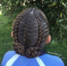Inspired by my sweet friend Tam over at today! Inspired by my sweet friend Tam over at @ Lil Girl Hairstyles, Pretty Hairstyles, Braided Hairstyles, 1980s Hairstyles, Ethnic Hairstyles, Black Hairstyles, Gymnastics Hair, Curly Hair Styles, Natural Hair Styles