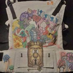 Alice in Wonderland (Customized by Jacky's Artbox) TULA BABY CARRIER