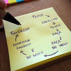Faça, faça de novo e depois continue fazendo. Não desista e continue fazendo e só assim chegará ao seus objetivos! #pratiqueideias #marketing