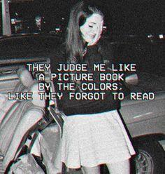 Preach it #lanadelrey Me juzgan como la portada de un libro Por los colores, parece que se olvidaron de leer