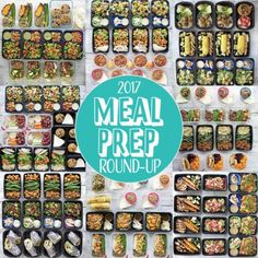 Healthy New Year: 2017 Meal Prep Round-Up - Peanut Butter and Fitness Healthy Meal Prep, Healthy Eating, Healthy Recipes, Clean Eating, Healthy Lunches, Lunch Snacks, Healthy Nutrition, Healthy Foods, Kid Lunches