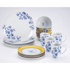 @Overstock - Setting the table with a pulled together yet relaxed look is a great trick to have up your sleeve when friends and family come over for a meal. With this Paula Deen dinnerware set, achieving that feel couldn't be easier.http://www.overstock.com/Home-Garden/Paula-Deen-Signature-Spring-Prelude-16-piece-Dinnerware-Set/7471456/product.html?CID=214117 $78.99