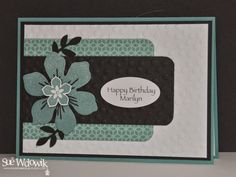 Sue Wdowik - Independent Stampin' Up! Demonstrator (Australia) Beautiful Bunch