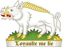 White Boar Badge of Richard III (Loyaulte Me Lie)