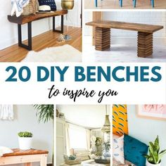 22 DIY Hanging Shelves To Maximize Storage in a Tiny Space via Place of Taste // New Blooming // ADC Even those of us who are construction novices can Diy Hanging Shelves, Diy Wall Shelves, Diy Home Decor Projects, Diy Projects To Try, Diy Blanket Ladder, Diy Coffee Table, Diy Bench, Mason Jar Diy, Jar Crafts