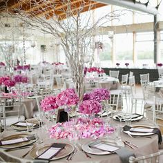 Love the center piece  UBC Boathouse Wedding | Amber Hughes | Real Weddings Magazine