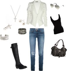 """""""dress/casual"""" by tiffany-summerson on Polyvore"""