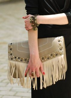 Fringe clutches.