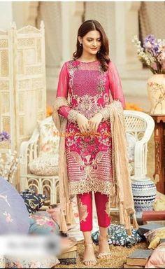 Collection Eid, Summer Collection, Pakistani Dress Design, Pakistani Dresses, Pakistani Gharara, Pakistani Lawn Suits, Saris, New Designer Dresses, Eid Dresses