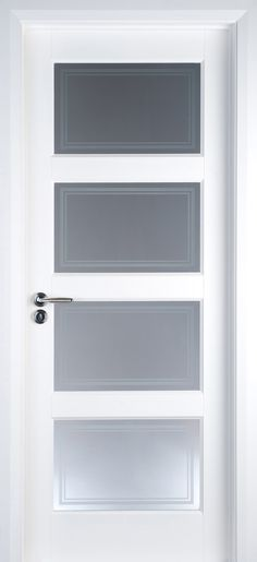 Deanta coventry internal white primed door with frosted glass odern interior doors interior doors contemporary doors white primed contemporary planetlyrics Gallery