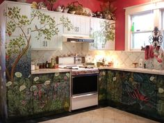This is soooo inspiring! I really in love with the concept of this beautiful kitchen!  by Dawn-Marie Delara  http://theartofthehome.blogspot.is/2010/05/tea-in-garden-anyone.html