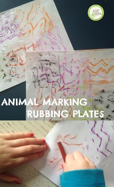 Make your own rubbing plates with just a few supplies you probably have at home! http://www.greenkidcrafts.com/animal-rubbing-plates/