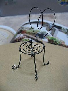 Fairy garden chair