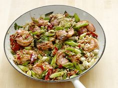 Cajun Shrimp and Rice Recipe : Delicious!  I added kielbasa I had on hand, and this dish was full of flavor.