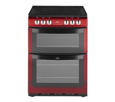 Buy NEW WORLD NW601EDO Electric Cooker - Metallic Red | Free Delivery | Currys