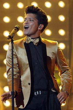 Gold suit!