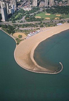 Chicago Lakefront, Lincoln Park, Illinois, Lake Michigan (2004)