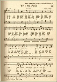 oy to the World is such an exuberant hymn, written by Isaac Watts in the 1700's.  It's amazing that it's stood the test of time and remained one of today's most popular Christmas carols.  I like to choose this as the first hymn for our church congregation to sing on Christmas Sunday.   Since it's the start of a Christmas theme on my blog, I thought it would be good to begin with this great hymn.