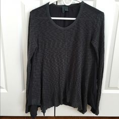 Anthropologie Left of Center long sleeve tee Cozy long sleeve tee from Left of Center. Machine washable. Cotton, rayon and spandex blend. This shirt is soft, flowy and in great condition. Anthropologie Tops Tees - Long Sleeve