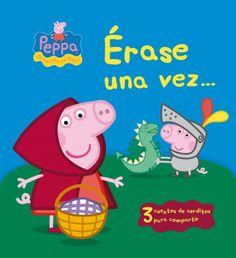 A Peppa Pig le encantan los cuentos y aún más si ella es la protagonista. Acompáñala en estas 3 historias llenas de fantasía.