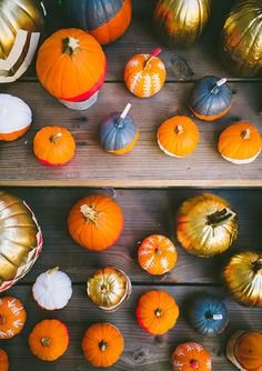 Fall party ideas by Foxhole Pop-Up. pumpkin table decor inspiration for a wedding.