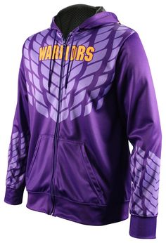 Fully sublimated team hoodies. Shown in the Dark Armor design