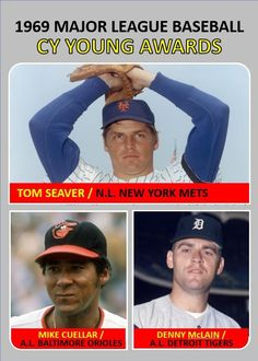 Ny Mets, New York Mets, Baseball Photos, Baseball Cards, Denny Mclain, Cy Young Award, Detroit Tigers Baseball, Baltimore Orioles, Custom Cards