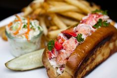 Try an authentic Maine lobster roll!
