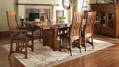 dining room table amish furniture rustic hickory twig trestle