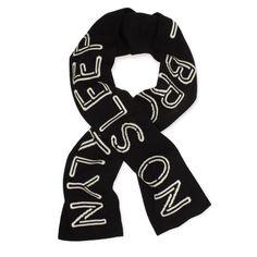 Love this scarf! Beastie boys ftw #katespade #scarf #nosleeptilbrooklyn $125