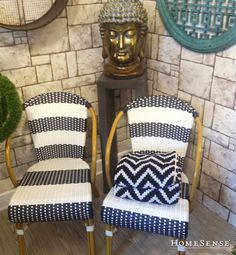Outdoor Chairs, Outdoor Furniture, Outdoor Decor, Homesense, Decorating Ideas, Decor Ideas, Bath, Cool Items, Spring Style