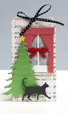 12 Tags of Christmas with a Feminine Twist – Day 7 by stripey fish (Jean M), via Flickr