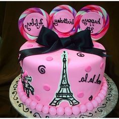 Creative Image of Paris Birthday Cakes . Paris Birthday Cakes Paris Themed Birthday Cakes Cupcake Heaven And Cafe Birthday Paris Birthday Cakes, Makeup Birthday Cakes, Paris Themed Cakes, Sweet 16 Birthday Cake, White Birthday Cakes, Paris Cakes, Birthday Cake Pictures, Cupcake Birthday Cake, Themed Birthday Cakes