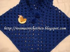 Poncho Fofucho em Crochê - Aprendendo Crochê
