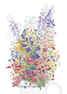 Grandmother's Cut Flower Garden Seed Mix | Botanical Interests