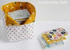 {DIY} Makeup remover wipes and bag - La Casa Cactus