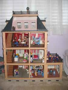 The Playmobil Victorian Mansion. (My all-time favorite!)