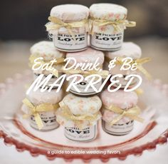 Eat, Drink, and Be Married: A Guide to Edible Wedding Favors – Custom Love Gifts, DIY Wedding Favors, Mason Jar Wedding Favors, Editable Wedding Favors, Unique wedding favors, Wedding Favors Inspiration