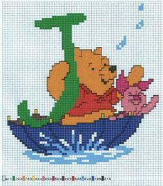 Winnie the Pooh Alfabet J
