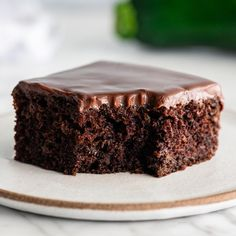 Easy Chocolate Desserts, Best Chocolate Cake, Delicious Chocolate, Chocolate Flavors, Chocolate Ganache, Chocolate Zucchini Cakes, Delicious Food, Easy Cake Recipes, Frosting Recipes