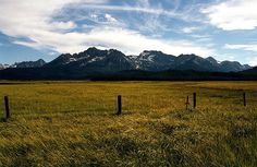 This is my Back Yard, and I LOVE this sight! I can never get enough of the Sawtooth Mountains in Idaho