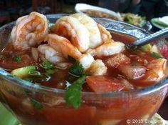 mexican shrimp cocktail with avocado | Mexican Shrimp Cocktail Recipe | Coctel de Camaron Receta | Tech Food ...