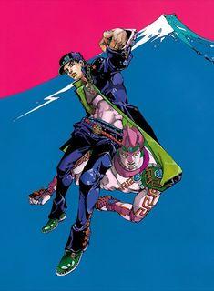 r araki hirohiko Bizarre Art, Jojo Bizarre, Manga Art, Manga Anime, Jojo Anime, Drawing Exercises, Jojo Parts, Jotaro Kujo, Jojo Memes