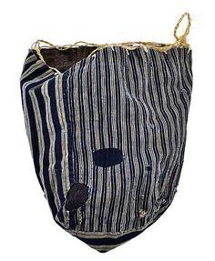 Japanese Patchwork Komebukuro Bag (ca. pre-1945)