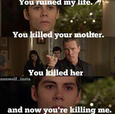 Heartbreaking scene