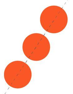 beeldend aspect: diagonale compositie