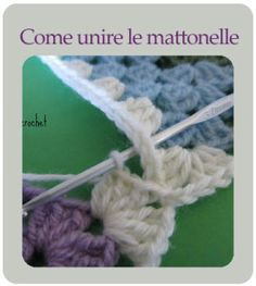 Crochet school - Free tutorials - How to join tiles Informations About Scuola di uncinetto – Tutorial gratuiti Pin You can easily us - Love Crochet, Crochet Granny, Knit Crochet, Popular Pins, Crochet Projects, Crochet Patterns, About Me Blog, Embroidery, School